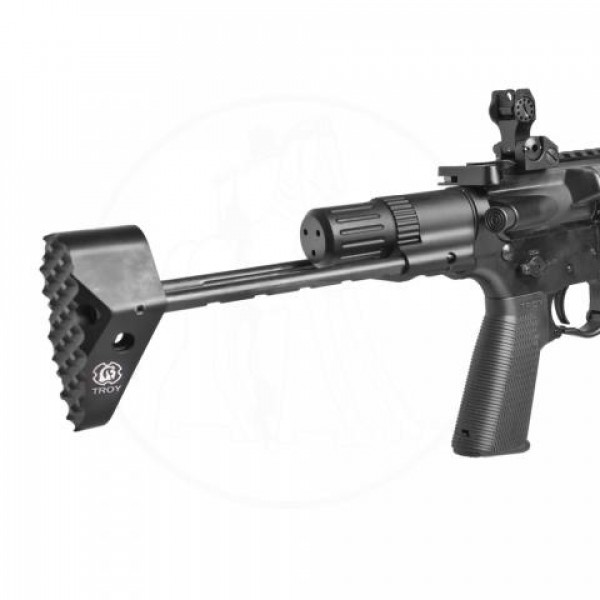 Troy Industries M7a1 Pdw Stock Kit Full Blk