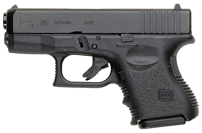 Glock 26 Gen 3 9mm - Handguns - Shop Online