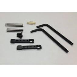 KNS AR-15 Gen ST Non-Rotating Trigger/Hammer Pins .154 Black