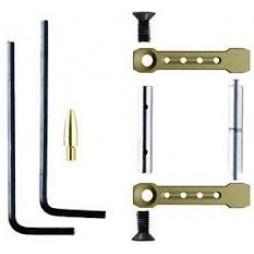 KNS AR-15 Gen ST Non-Rotating Trigger/Hammer Pins .154 Flat Dark Earth