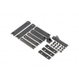 Knights Armament URX 3.1 Deluxe Rail Panel Kit Black 30409