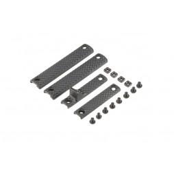 Knights Armament URX 3.1 Long Panel Kit Black
