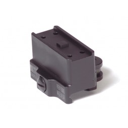 American Defense AIMPOINT T1 MICRO MOUNT 1 PIECE CO-WITNESS Black Standard Lever