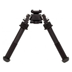 "Atlas Bipod 1913 Picatinny Rail Mount 4.75"" to 9"" Aluminum Black"