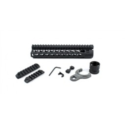 "BCM GUNFIGHTER KEYMOD 5.56 9"" Black Rail"