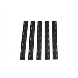 BCM Keymod Rail Panel Kit 5.5 inch BLK (5 pack)