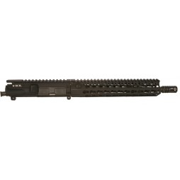 "BCM 11.5"" Carbine (Enhanced Lightweight **FLUTED**) Complete Upper Receiver w/ KMR 10"" Rail 5.56"