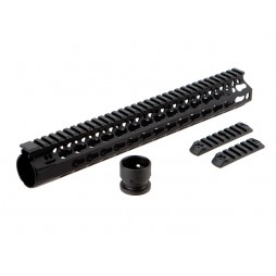 "BCM GUNFIGHTER KEYMOD 5.56 13"" Black Rail"