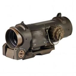 ELCAN Optics SpecterDR 4x/1x Dual Role Optical Sight FDE
