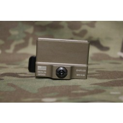 American Defense AIMPOINT T1 MICRO MOUNT AD-T1-11 TAC R FDE SOCOM HEIGHT Flat Dark Earth Tactical Lever