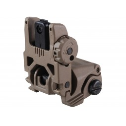 MagPul MBUS Gen 2 Flip-Up Rear Sight AR-15 FDE
