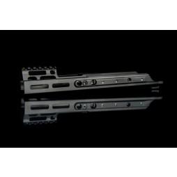"Kinetic SCAR MREX- MLOK 4.9"" Kit Black"