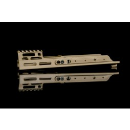 "Kinetic SCAR MREX- MLOK 4.9"" Kit FDE"