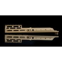 "Kinetic SCAR MREX- MLOK 6.5"" Kit FDE"