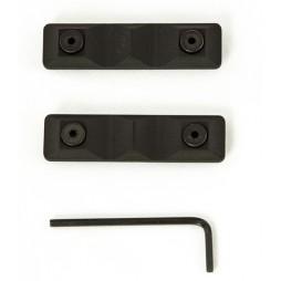 Rail Scales PV3 Short Grip Panel 2 pack BLK Keymod