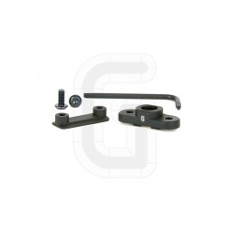 Geissele 45° Quick Detach Swivel Mount Black