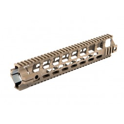 "Fortis REV 12"" Free Float Rail System Cerakote Flat Dark Earth"
