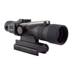 Trijicon 3x30 ACOG Dual Illuminated Amber Crosshair 300BLK Ballistic Reticle w/ TA60 Mount